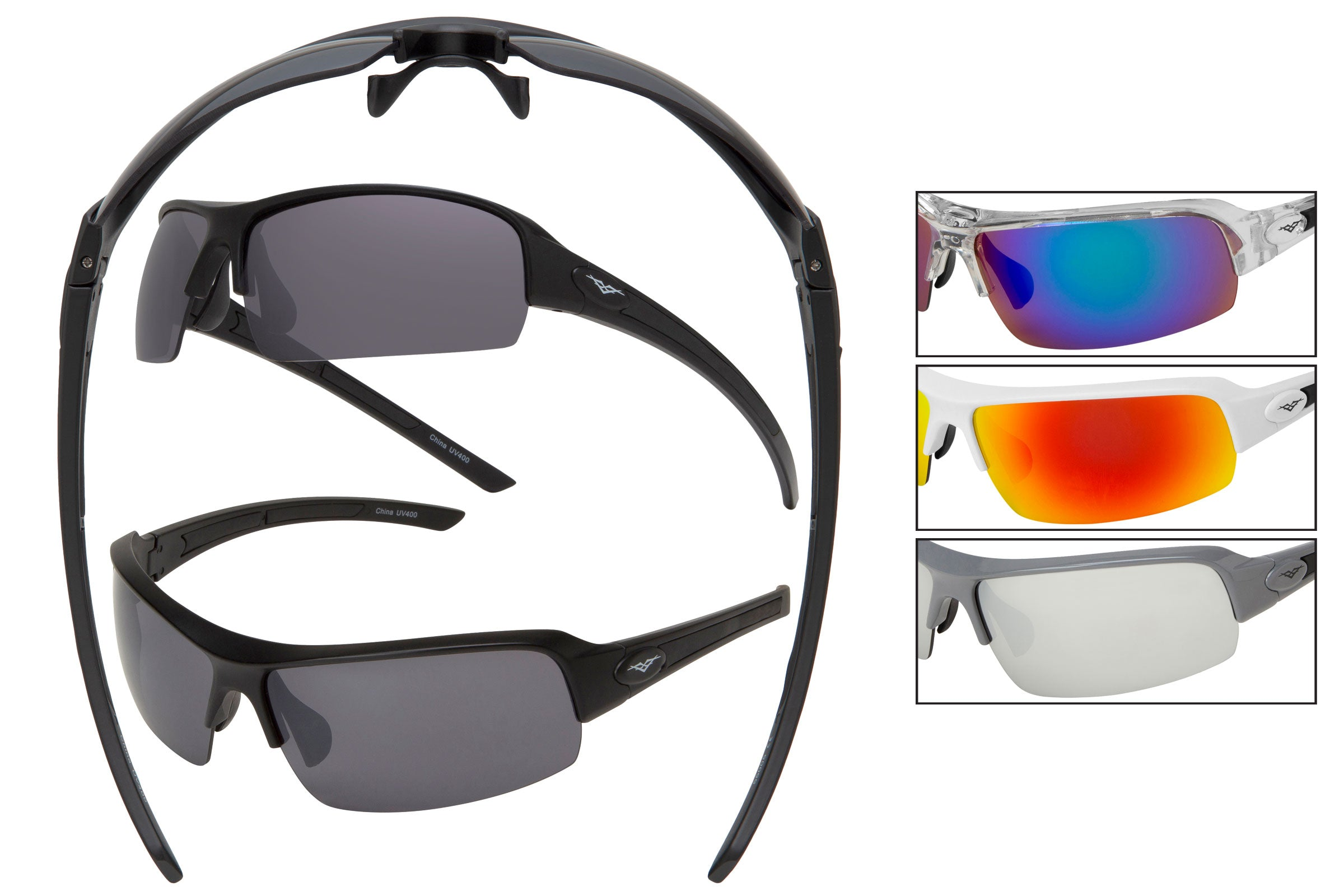 55005 - VertX PC Sport Wrap Sunglasses