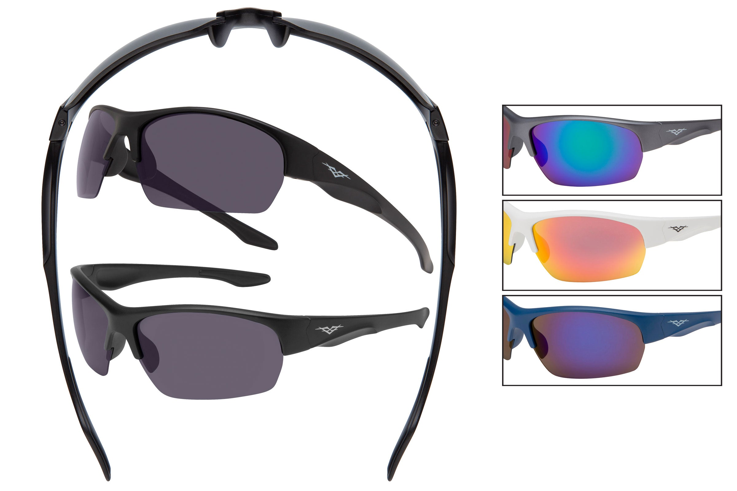 55025 - VertX PC Sports Wrap Sunglasses