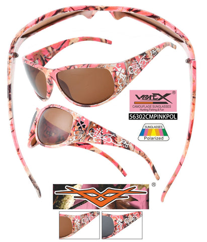 56302CM-HOT PINK  VERTX POLARIZED CAMO