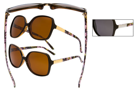 56308-LPUR POL - VertX Women's Camo Sports Sunglasses
