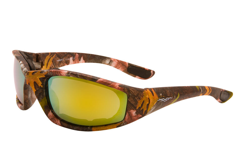 56610-GGL - VertX Brown Camo Goggles w/ Soft Touch