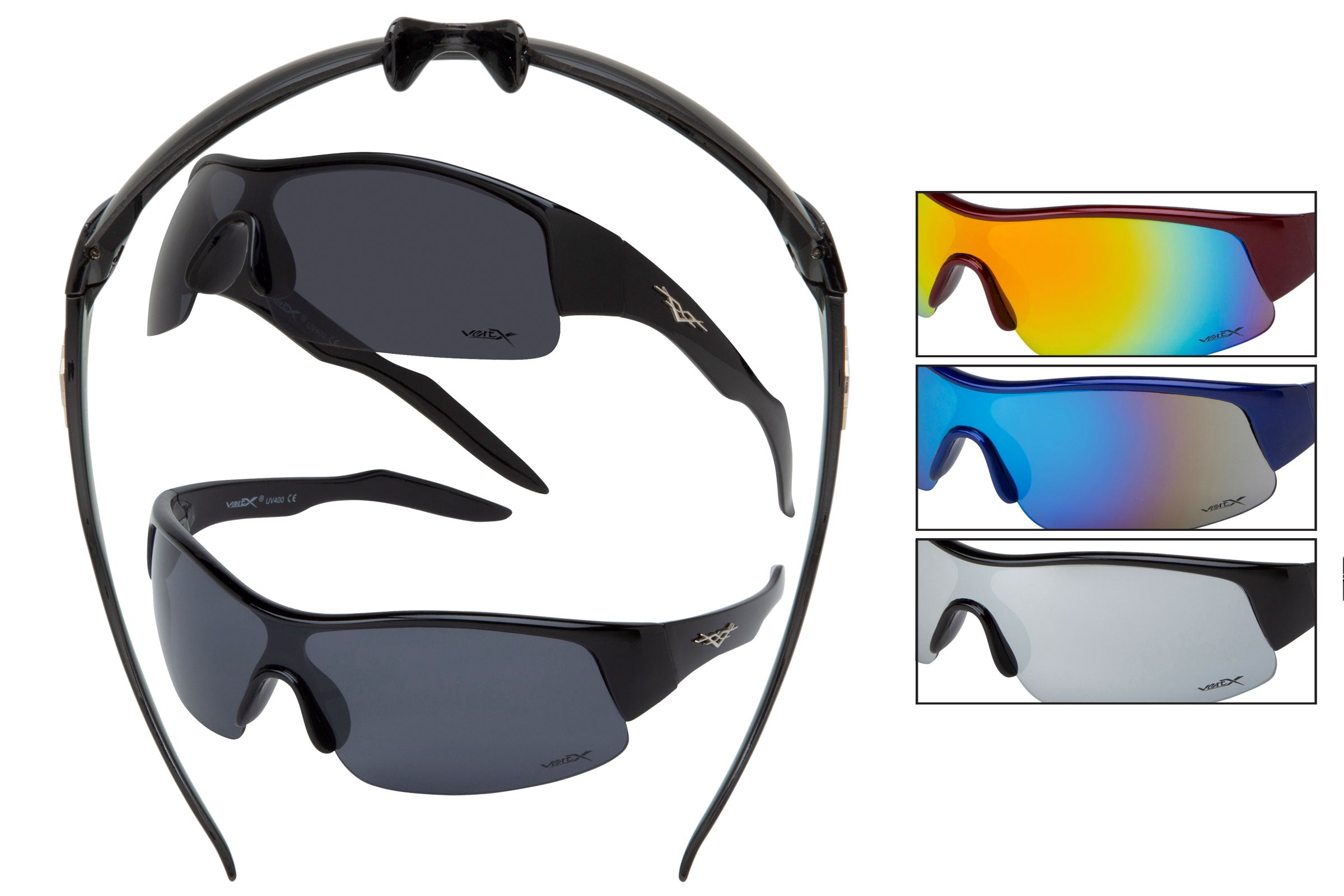 59105 - Men's PC Sports Wrap Sunglasses