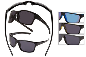 59117 - VertX Classic PC Sports Wrap Sunglasses