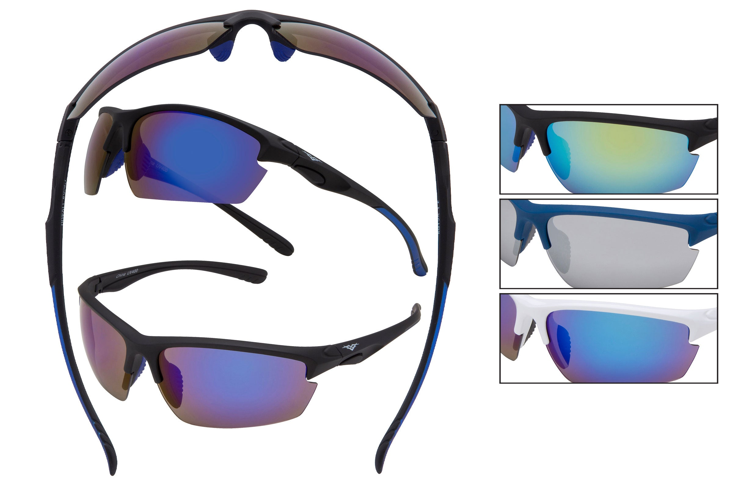 59125 - VertX PC Sport Wrap Sunglasses