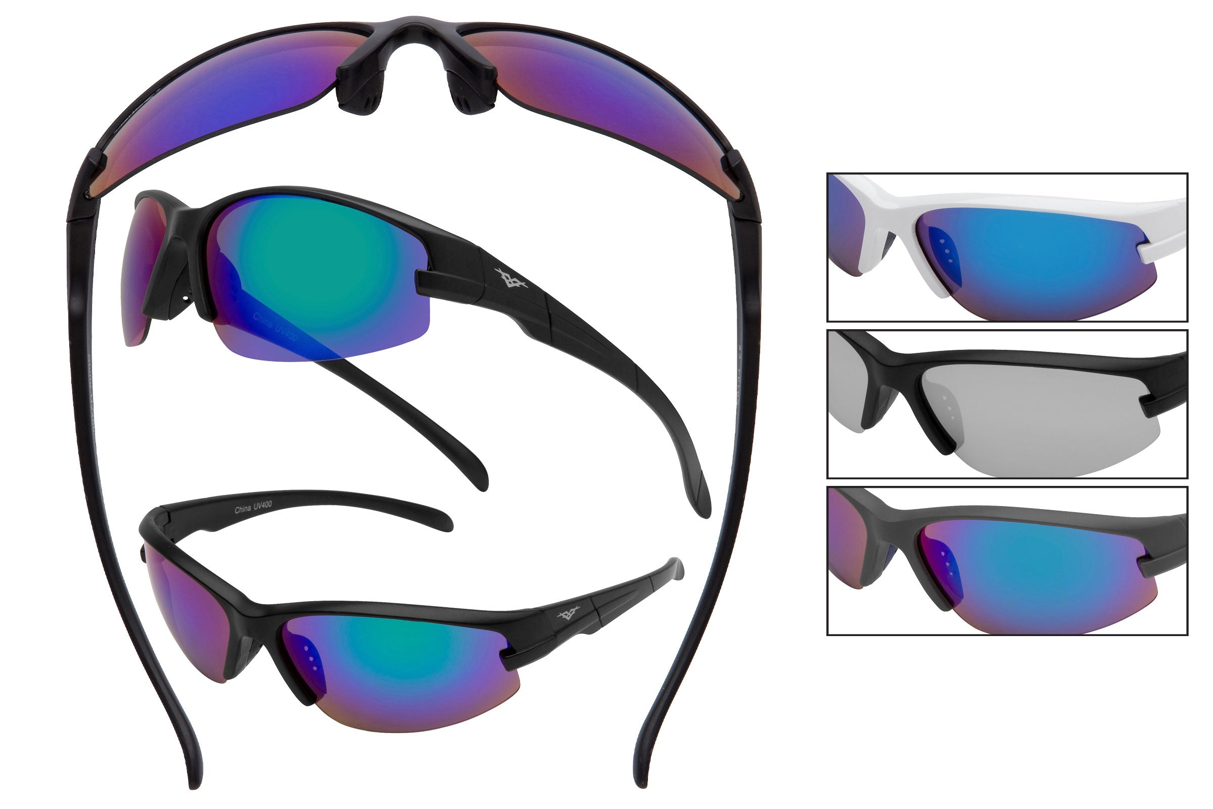 59144 - VertX PC Sport Wrap Sunglasses