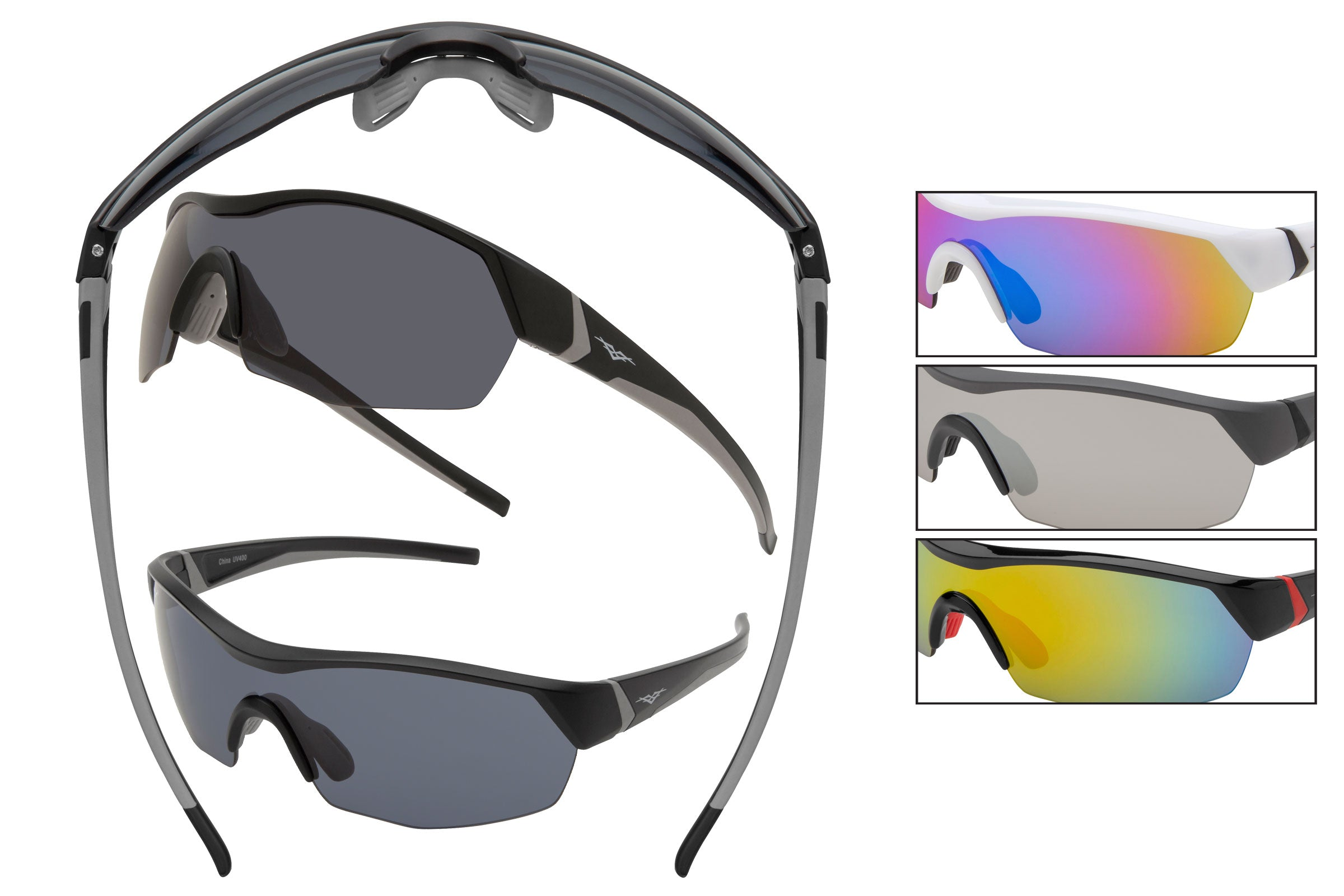 59217 - VertX PC Sport Wrap Sunglasses
