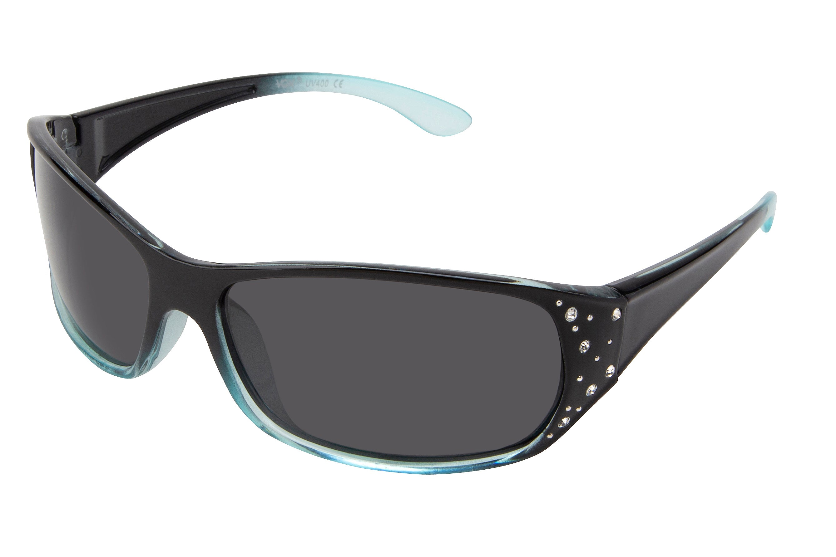 62049-POL - Vox Women's Polarized PC Fashion Sunglasses w/ Rhinestones