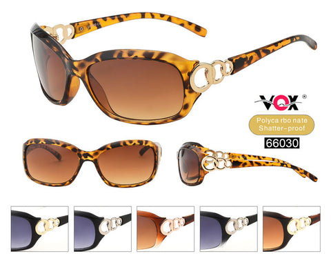 66030 - VOX Brand PC Fashion Sunglasses