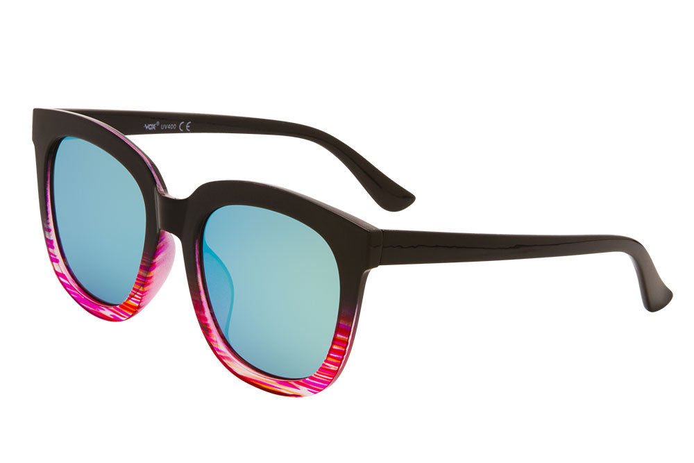 66068 - VOX Brand Women's Plastic Fashion Sunglasses