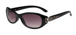 66122 - VOX Brand Women's Plastic Fashion Sunglasses