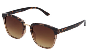 66129 - Vox Women's Retro PC Sunglasses w/ Metal Temples