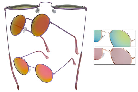 66132 - Vox Women's Metal Fashion Sunglasses