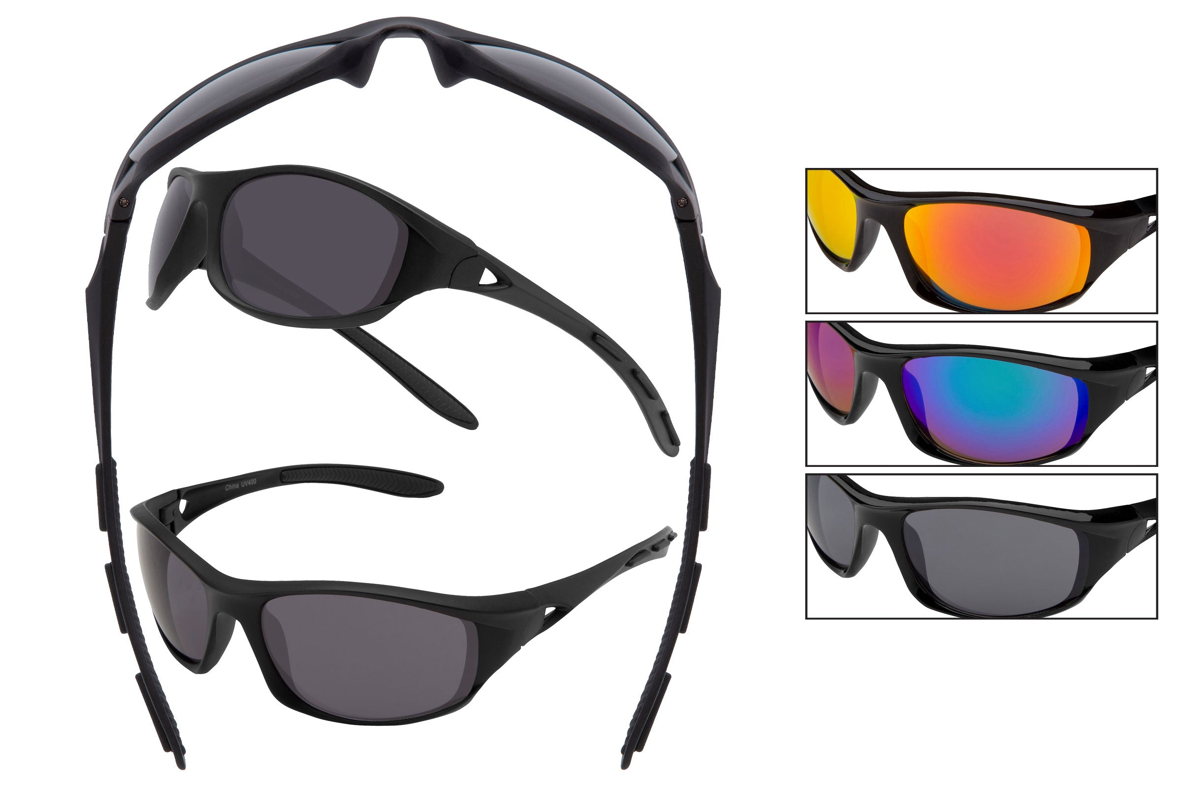 AD10 - Sports Wrap Sunglasses