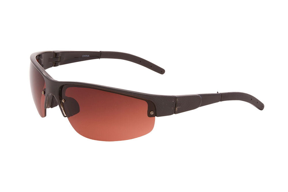 BO01DR - Low Light Sport Wrap Sunglasses