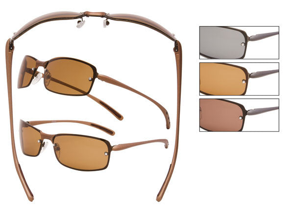 Metal, Polarized Sunglasses - CA07P