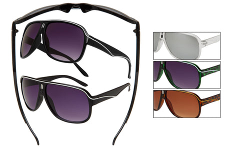CA12 - Retro Plastic Sunglasses