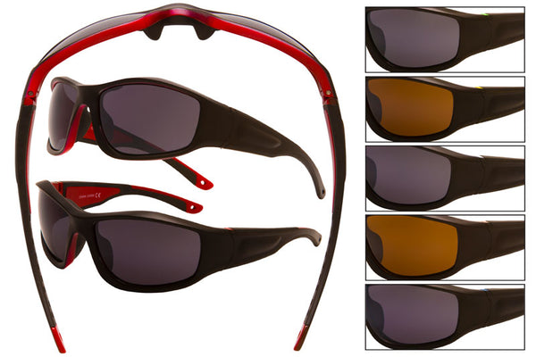 CDM21 - Sports Wrap Sunglasses