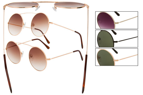CK11 - Metal Wire Sunglasses