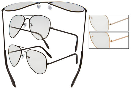 CK13CL - Clear Optix Pilot Sunglasses