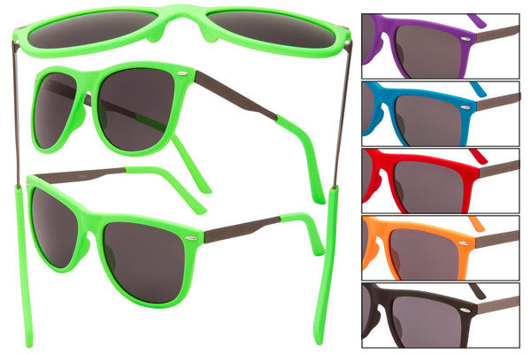 DE12 - Retro Plastic Sunglasses