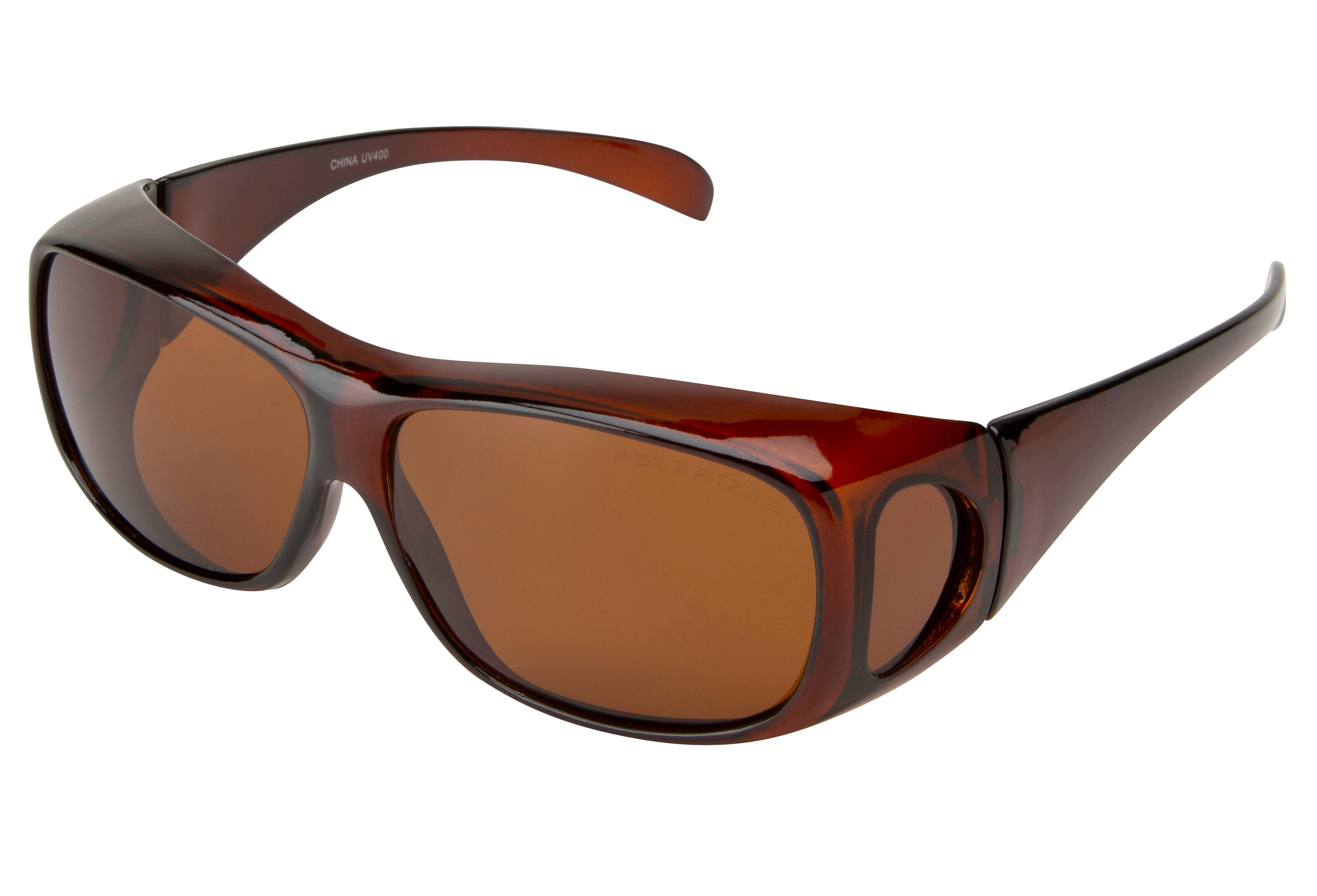 FO02P - Polarized Shaded Sunglasses - Fit Over Eyewear
