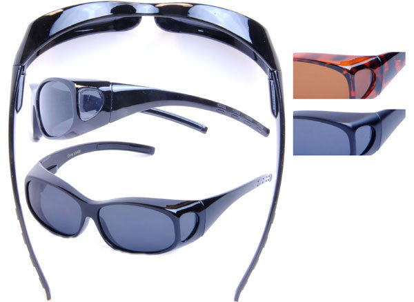Shaded eyewear to go over eyeglasses - FO03P