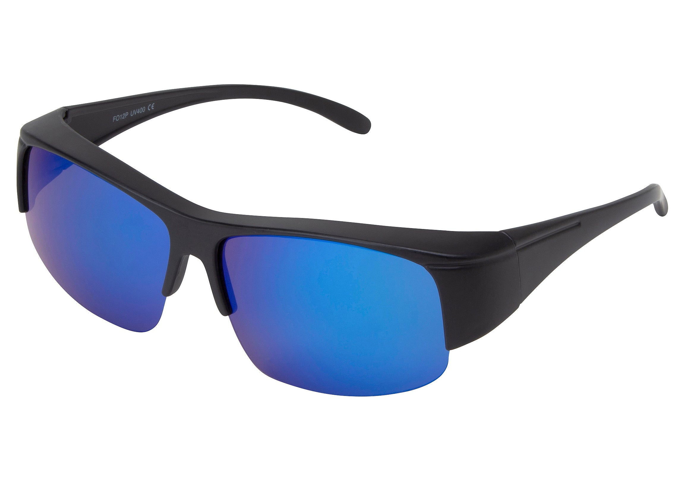 FO12P - Polarized Fitover Sunglasses Shaded