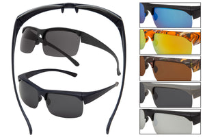 FO13P - Polarized Shaded Sunglasses - Fit Over Eyewear