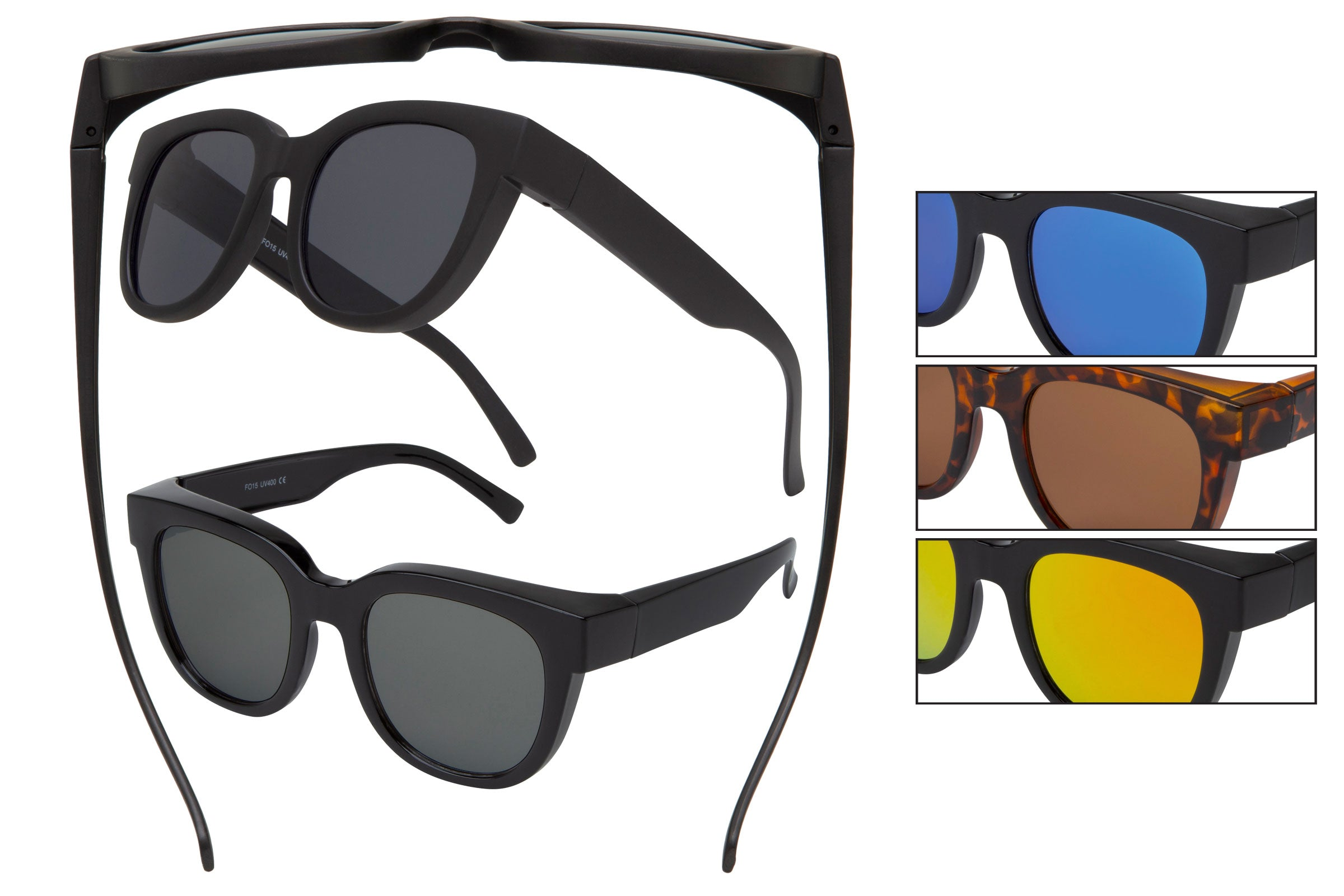 FO15 - Shaded Sunglasses - Fit Over Eyewear