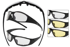 G55017-B - Goggles (Clear/Yellow Mix)