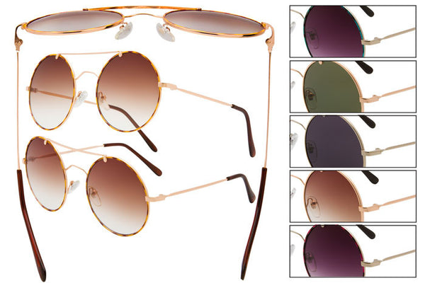 GS14 - Metal Wire Sunglasses