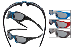 KID86 - Boys Sport Wrap Sunglasses