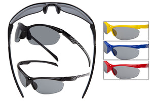 KID93 - Boys Sport Wrap Sunglasses