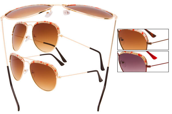 KS12 - Ladies' Vintage Sunglasses
