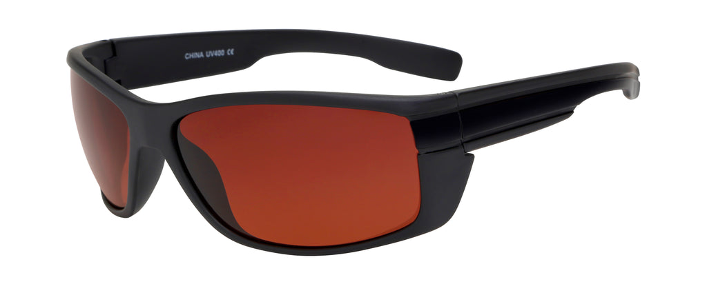 MJ06DR - Sport Wrap Sunglasses