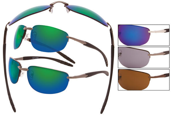 MJ07 - Metal Wire Sunglasses