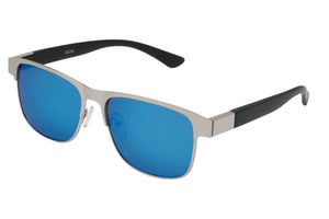 MJ19RV - Metal Wire Sunglasses w/ Revo Lens