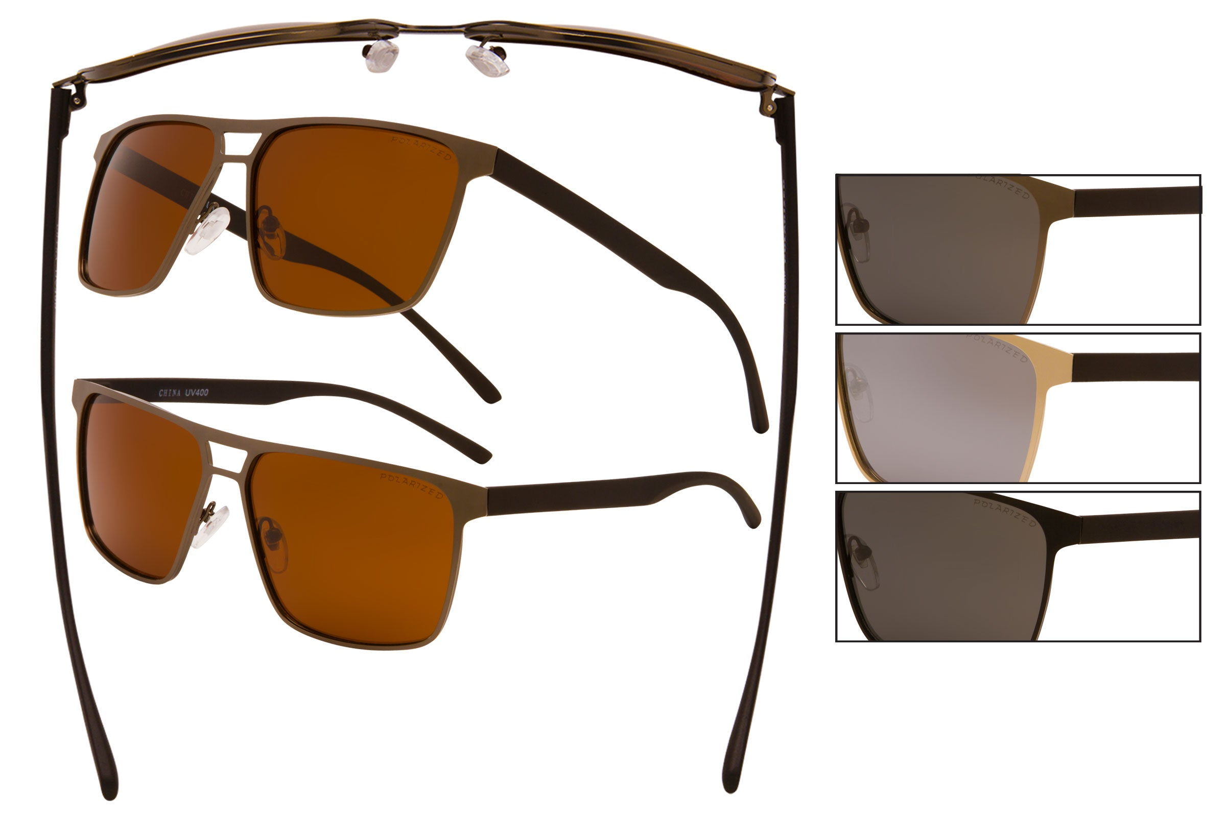 MJ20P - Polarized Pilot Sunglasses