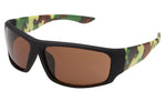 MJ23P - Polarized Sport Wrap Sunglasses