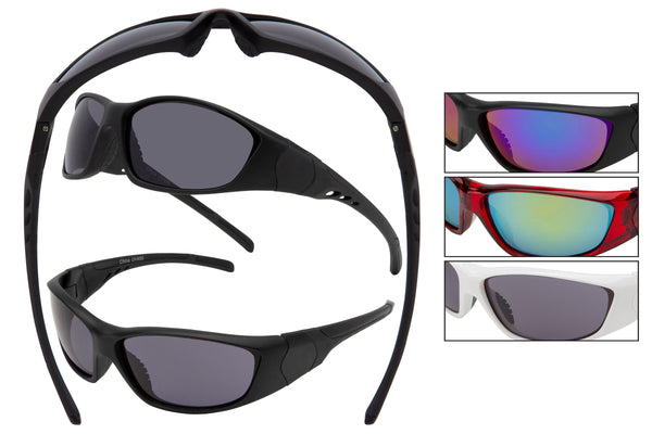 NK01 - Sports Wrap Sunglasses