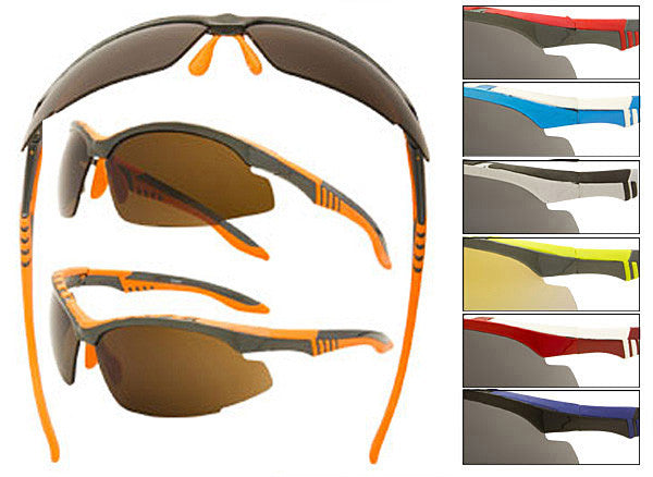 NK08 - Sport Wrap Sunglasses