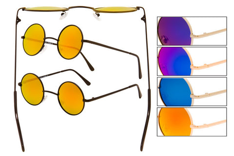 OP01RV - Metal Wire Sunglasses