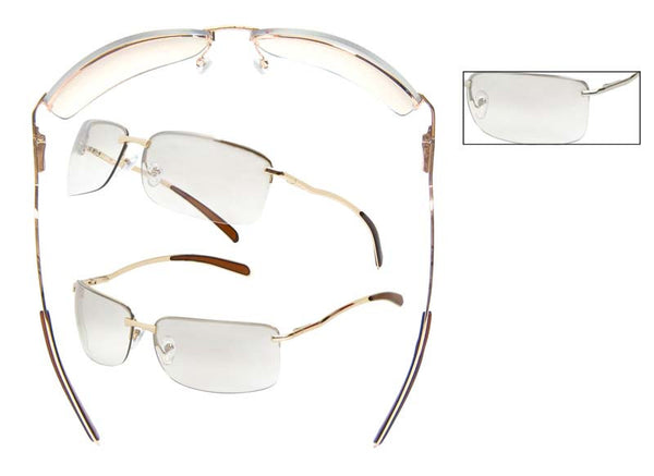 Women's Rimless Sunglasses - PD06CL