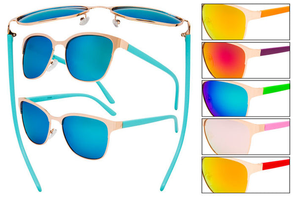 PD14 - Metal Wire Sunglasses