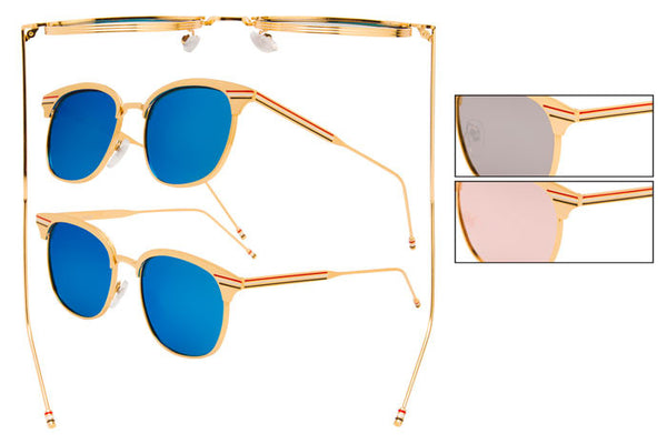 RB33 - Metal Wire Sunglasses