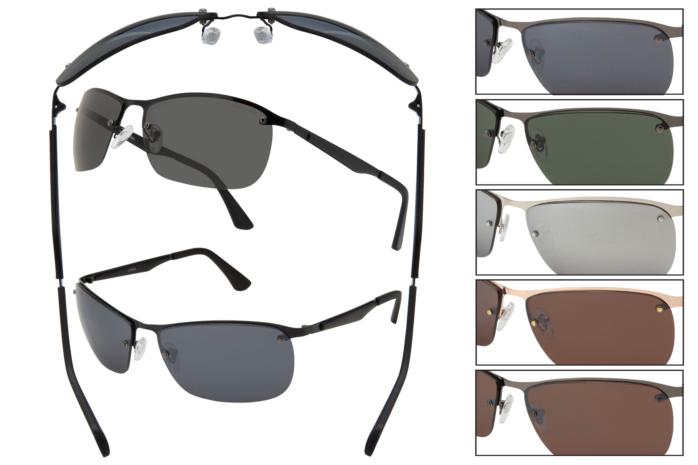 RB54 - Metal Wire Sunglasses