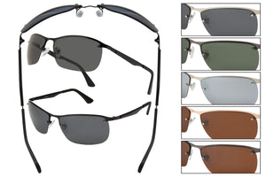 RB54P - Polarized Metal Wire Sunglasses