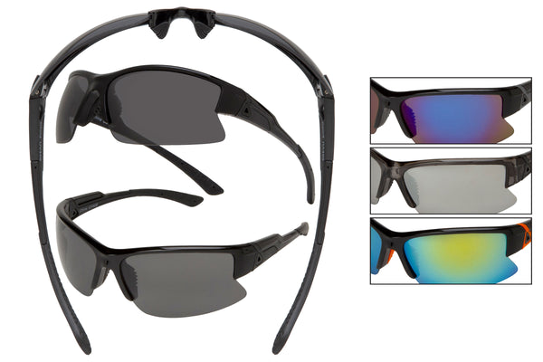 SM02 - Sport Wrap Sunglasses