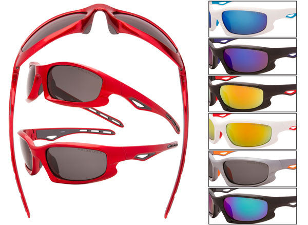 SM08 - Sports Wrap Sunglasses