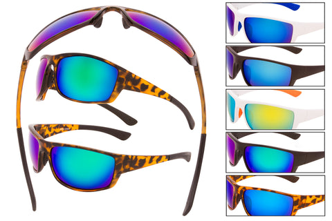 SM09 - Sport Wrap Sunglasses